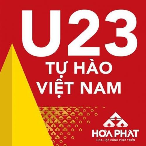Tập đoàn Hòa Phát thưởng nóng 1 tỷ đồng cho đội tuyển U23 Việt Nam