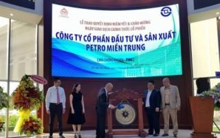 Petro miền Trung niêm yết với giá tham chiếu 14.000 đồng/cổ phiếu
