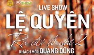 Sau nhiều khen chê, Lệ Quyên tiếp tục hát nhạc Trịnh