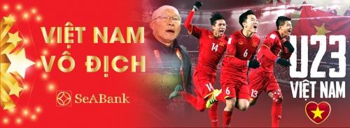 SeABank đồng hành cùng U23 Việt Nam tại vòng Chung kết U23 Châu Á 2018