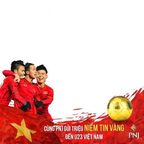 Cùng PNJ lập bộ huy chương Niềm Tin Vàng dành tặng U23 Việt Nam