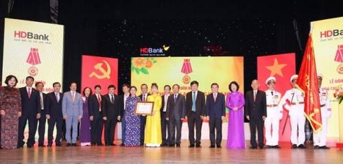 HDBank đón nhận Huân chương Lao động hạng Nhì: Phần thưởng xứng đáng