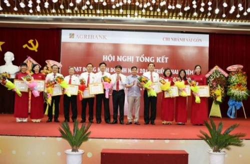 Agribank chi nhánh Sài Gòn: Phấn đấu nhiều mục tiêu tăng trưởng 2018