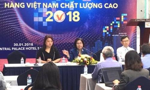640 DN đạt danh hiệu Hàng Việt Nam chất lượng cao 2018
