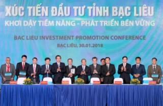 Các NHTM cam kết đầu tư tín dụng 6.750 tỷ đồng cho 11 dự án tại Bạc Liêu