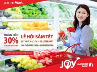 Sắm Tết cùng Maritime Bank Mastercard