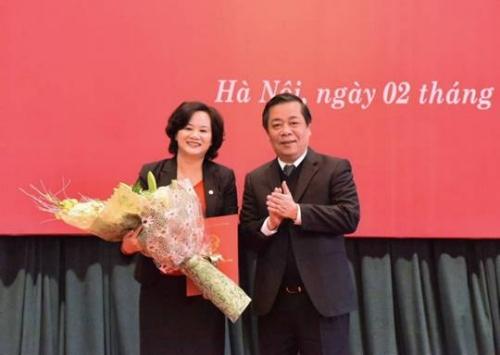 Phó Thống đốc Nguyễn Kim Anh trao quyết định bổ nhiệm Thành viên HĐTV Agribank