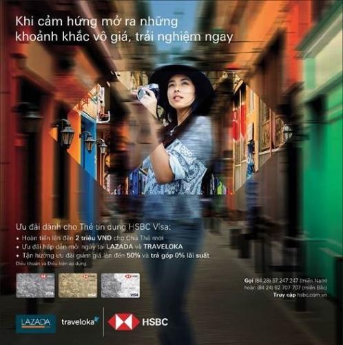 HSBC Việt Nam giới thiệu nhiều ưu đãi hấp dẫn