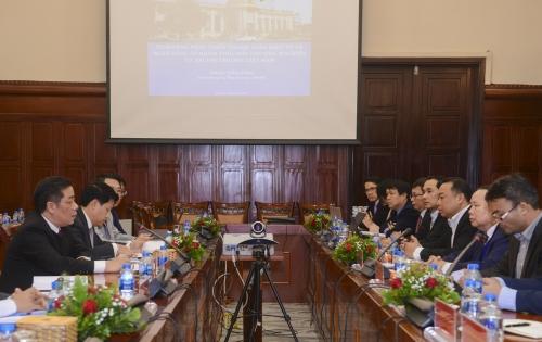 NHNN Việt Nam - Bộ Công thương Lào: Chia sẻ kinh nghiệm trong phát triển thanh toán điện tử