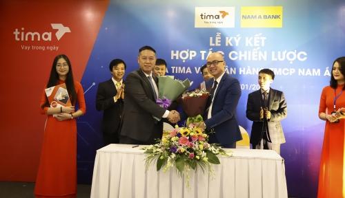 Tima hợp tác với Nam A Bank