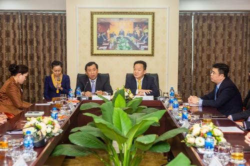 SHB Lào góp phần quan trọng phát triển kinh tế - xã hội Việt - Lào