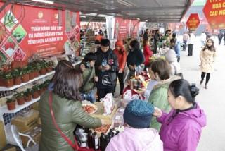 Tuần hàng Dâu tây và Nông sản an toàn tỉnh Sơn La năm 2019