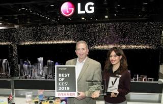 LG giành hơn 140 giải thưởng và danh hiệu tại CES 2019