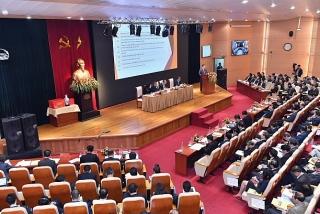 Hội nghị triển khai nhiệm vụ ngân hàng năm 2020