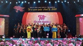 SHB ủng hộ hơn 1 tỷ đồng mang Tết ấmđến với người nghèo tại Nghệ An