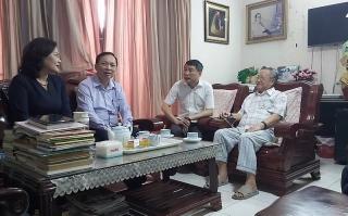 Thống đốc Lê Minh Hưng và Ban Lãnh đạo NHNN chúc Tết các gia đình nguyên lãnh đạo ngành Ngân hàng