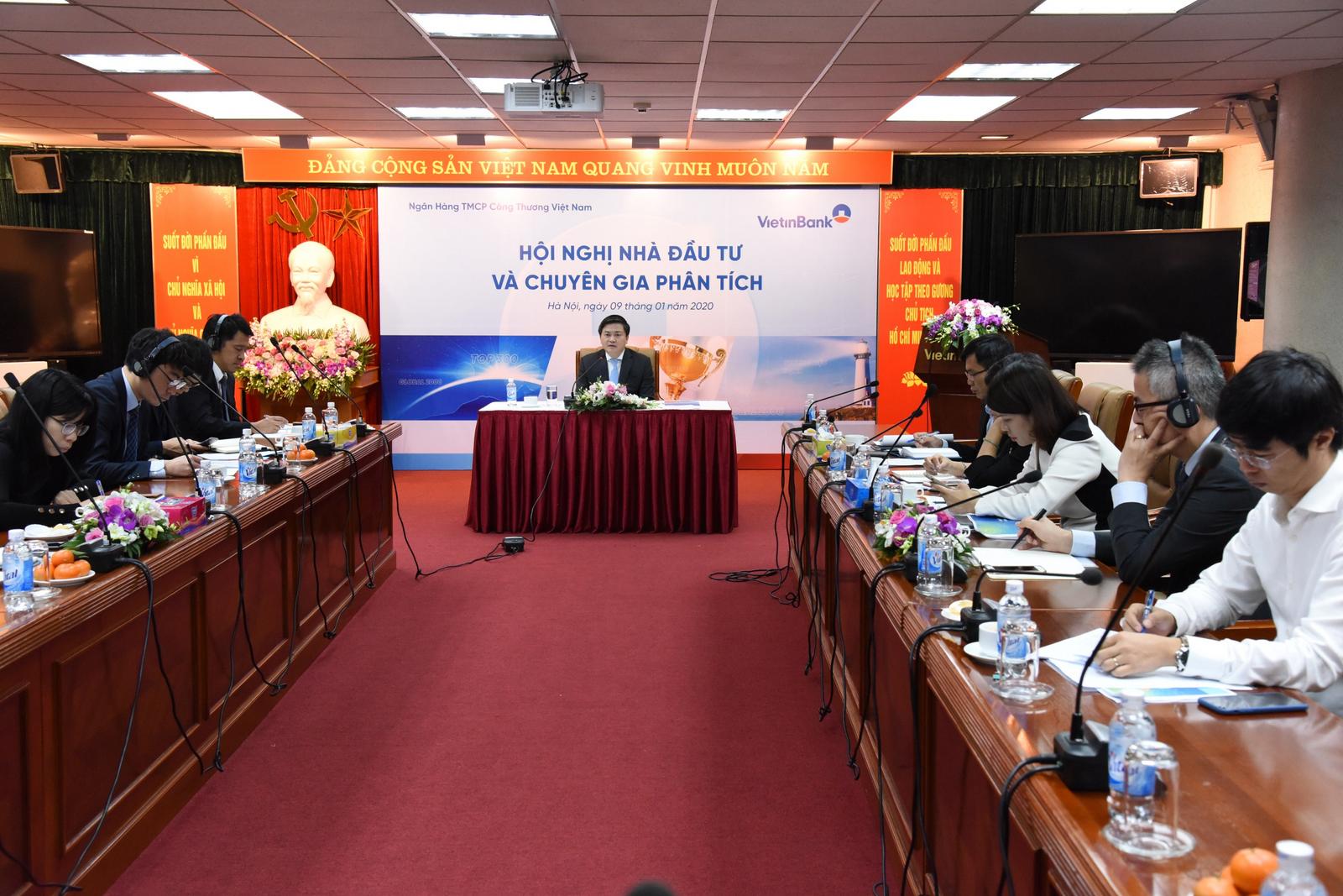 VietinBank tổ chức hội nghị nhà đầu tư và chuyên gia phân tích