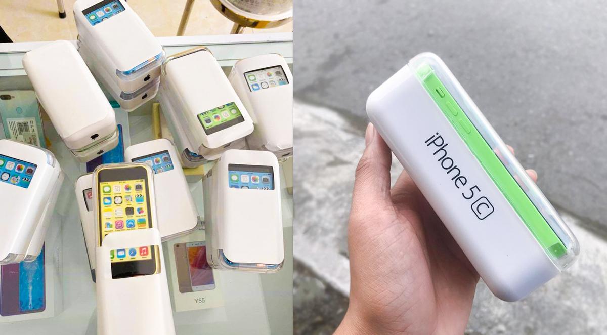 iphone 5c duoi mot trieu dong ban tran lan