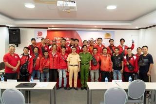 GoViet phối hợp với Công an TP. Hồ Chí Minh tổ chức đào tạo, nâng cao chất lượng tài xế