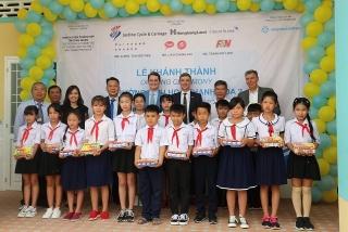 Saigonchildren xây dựng ngôi trường thứ 200 tại Việt Nam