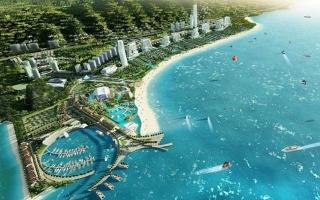 Sonasea Vân Đồn Harbor City của CEO Group gặp khó vì vướng giải phóng mặt bằng