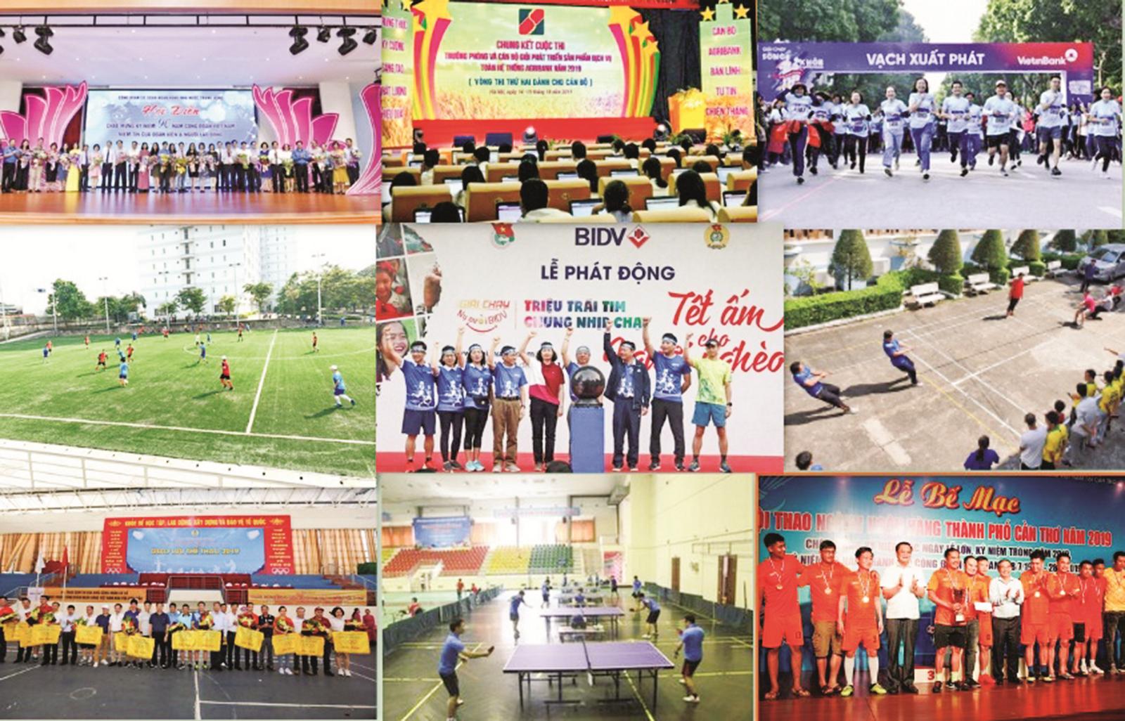 Công đoàn Ngân hàng Việt Nam:Hướng tới kỷ niệm 70 năm ngày thành lập Ngành