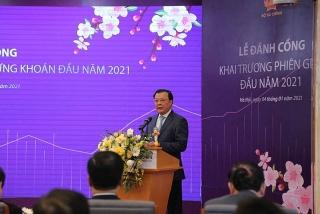 Tập trung nỗ lực, thúc đẩy thị trường chứng khoán Việt Nam phát triển lành mạnh