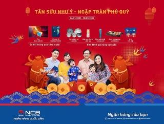 NCB triển khai chương trình khuyến mại tiền gửi Tết Tân Sửu