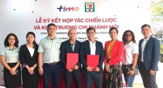 Timo và 7-Eleven hợp tác chiến lược thúc đẩy nền tảng ngân hàng số