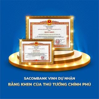 Sacombank nhận Bằng khen của Thủ tướng Chính phủ