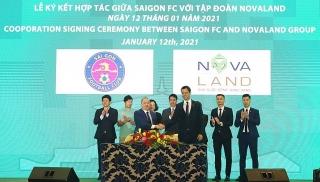 Novaland tài trợ Sài Gòn FC mùa giải mới