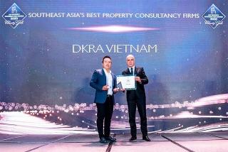 DKRA VIETNAM nhận 2 giải thưởng Đông Nam Á