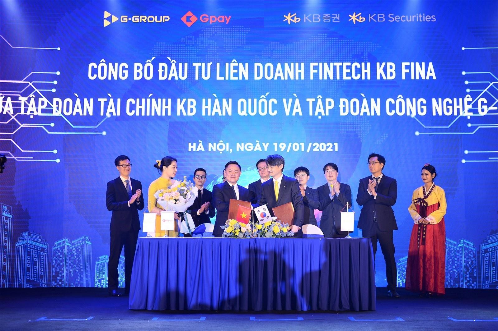 Tập đoàn KB Hàn Quốc đầu tư hơn 400 tỷ vào Gpay