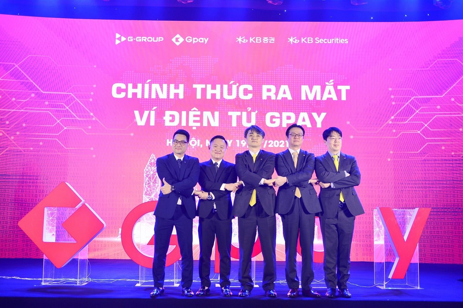 Ra mắt ví điện tử Gpay