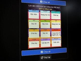Nguy cơ lộ dữ liệu cá nhân từ trò xem bói trên Facebook