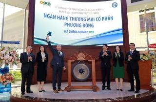OCB chính thức niêm yết gần 1,1 tỷ cổ phiếu trên sàn HoSE