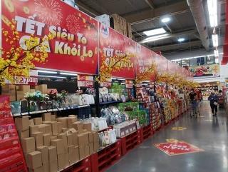 Mega Market Việt Nam đảm bảo cung ứng đầy đủ hàng hoá dịp Tết