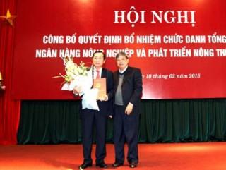Ông Tiết Văn Thành chính thức giữ chức Tổng giám đốc Agribank