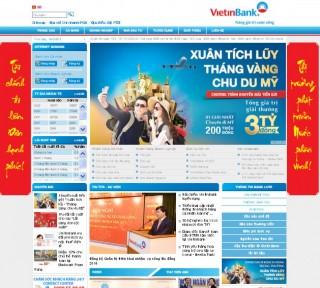 Chính thức ra mắt giao diện mới website VietinBank