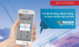 Đăng nhập VietinBank iPay bằng vân tay chỉ mất 1 giây