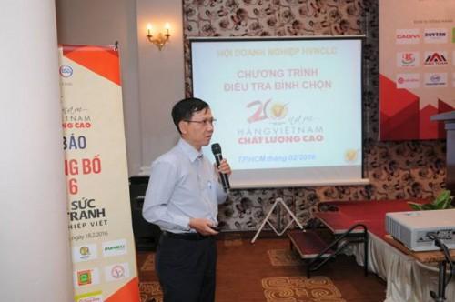 Sắp công bố 500 DN đạt danh hiệu Hàng Việt Nam chất lượng cao