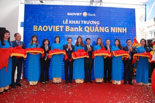 BAOVIET Bank khai trương chi nhánh Quảng Ninh