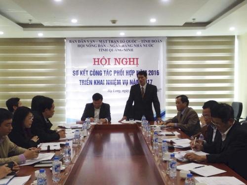 NHNN chi nhánh Quảng Ninh chủ động phối hợp với các ban, ngành tỉnh Quảng Ninh