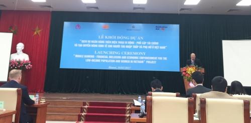NHCSXH khởi động Dự án Mobile Banking giai đoạn 2