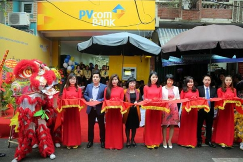 PVcomBank khai trương trụ sở mới PGD mới tại Hoàng Văn Thái
