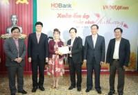HDBank mang Xuân yêu thương đến với trẻ khuyết tật