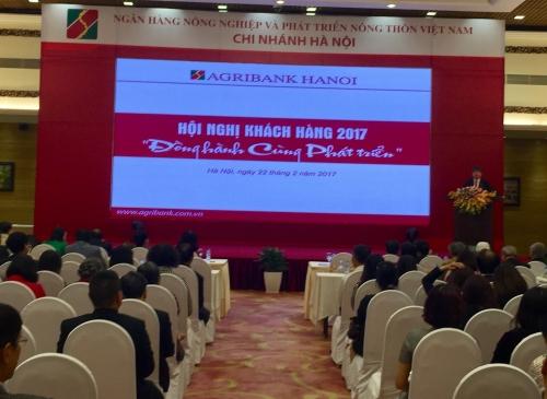 Agribank Hà Nội đồng hành cùng sự phát triển của khách hàng