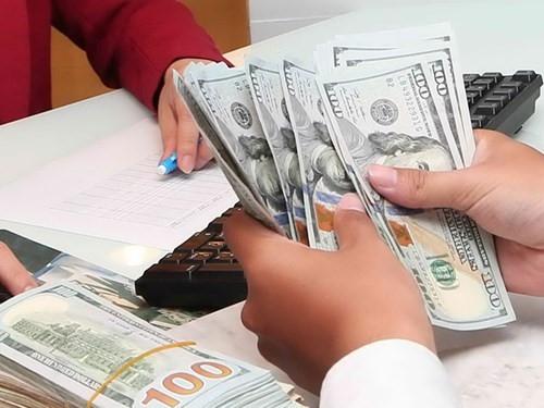 Tỷ giá trung tâm và giá USD ngân hàng đều giảm nhẹ