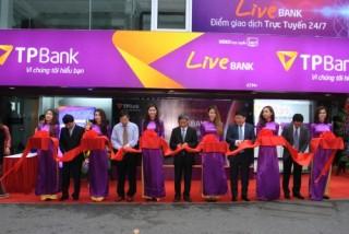 TPBank chính thức ra mắt mô hình giao dịch Ngân hàng tự động LiveBank