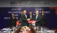 BIDV hợp tác với Fukuoka nhằm tăng cường phục vụ KH Nhật Bản tại Việt Nam